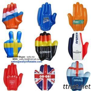 Inflatable Hand, Inflatable Flag Hand, Australian Flag Inflatable Hand