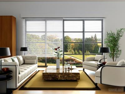 Motorized Aluminum Blinds