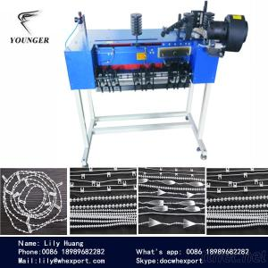 Automatic Roller Blinds Curtain Plastic Beads Endless Loop Ball Chain Making Machine