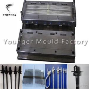 Automotive nylon cable tie injection mould