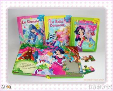 Customized Hardcover Child Book Printing