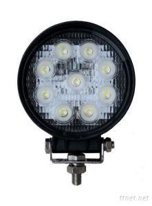 27W Round LED Auto Work Light, HG-832
