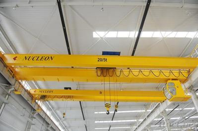 low price double girder overhead traveling crane