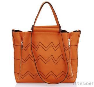 Leisure Women Bags Unique Leather Handbags