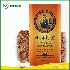 100% Flaxseed Oil for Edible