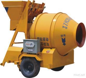 JZM350 Electric Portable Concrete Mixer With Pump