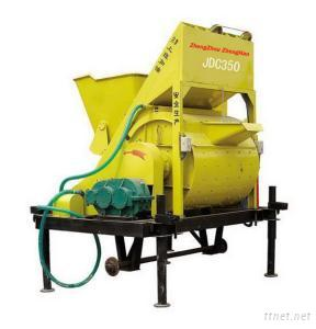JDC350 Potable Electric Self Loading Concrete Mixer Machine