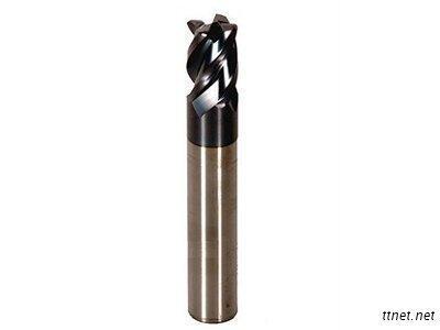 4-Flutes Short - Flute Corner - Radius End Mills