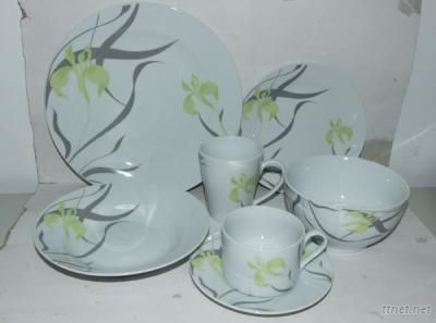 Porcelain Dinnerware Set,Set of 6 PCS