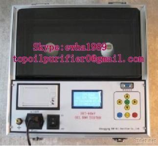 IEC156 Transformer Oil Dielectric Strength Testing Measurement Bdv-Iij