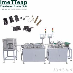 AC Power Jack Assembly Machine