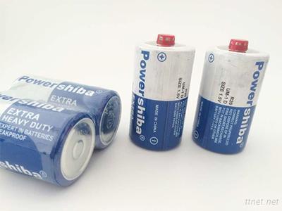 1.5V D Size R20 Battery Carbon Battery For Flash Light