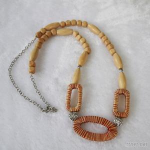 Wood Jewelry, Jewelry, Necklace