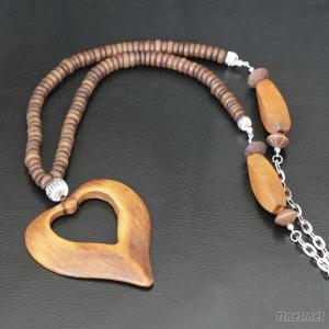 Wood Jewelry, Fashion Jewelry, Necklace