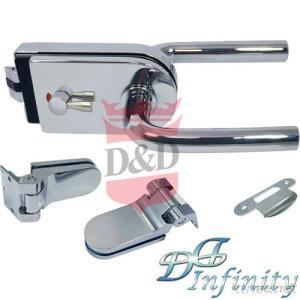 Glass Patch Lock Set