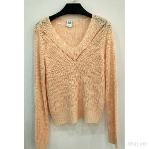 New Style Fashion Design Sweater Ladies Knit Pullover