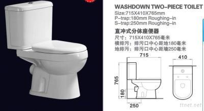 Washdown Two-Piece Toilet