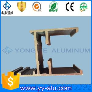 Factory Price Aluminium Casement Window 28 System With Powder Coating Bronze Color