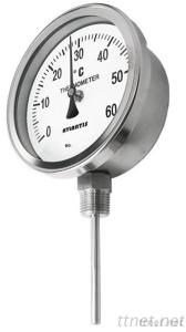 Bi-metal Thermometer (Outside Bayonet, Bottom Connection Type) (BTI)