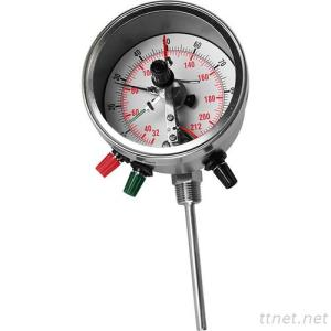 Bimetal Thermometer with Electrical contact (Adjustable Angle Type) BTAC