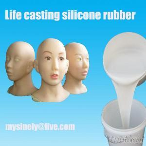 Life Casting Silicone Rubber For Soft Silicone Products