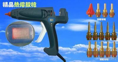 400W Digital Display Thermostat EU Plug Hot Melt Glue Gun