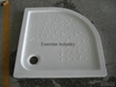 Semi-Arc Acrylic Shower Tray