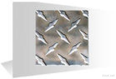 one bar embossed aluminum sheet