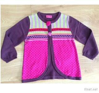 Colorful Baby Wool Sweater