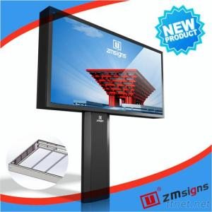 Billboard Construction Outdoor Advertising Billboard Frame Electronic Billboard For Sale
