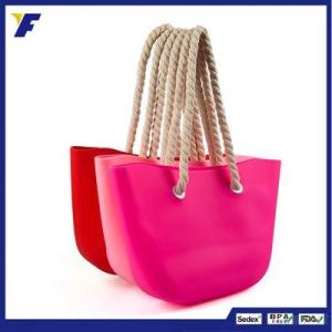 China Supplier Wholesale Fashion Silicone Beach Bag