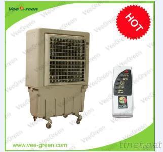 Popular Floor Standing Water Air Fan Cooler, Evaporative Air Conditioner