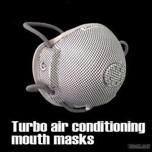 Turbo Air Conditioning Mouth Masks