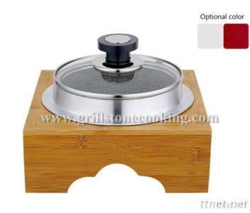 Non Stick Aluminum Stone Hot Pot