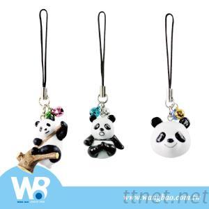 Mobile Phone Charm With Panda Figure