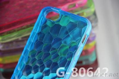 For IPhone 5 Water Cube Style TPU Case