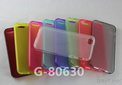 For IPhone 5 Glaze Pattern TPU Cover