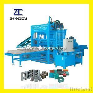 ZCJK Hydraulic Semi Automatic Block Making Machine