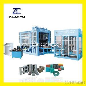 ZCJK QTY9-18 Multi-function Hydraulic Automatic Block Making Machine