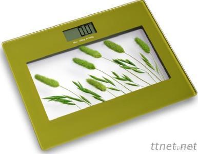 Picture Printing 150 Kg Digital Bathroom Scale BS1202