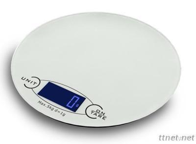 Unique Round Shape 5Kg Kitchen Scale, Food Scale KS1201