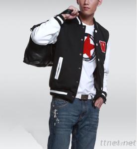 Men'S Fashion Varsity Baseball Jackets