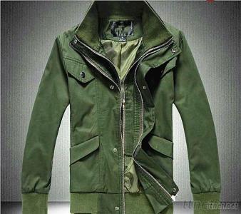 Men's Winter Double Neck Cotton Jacket Coats