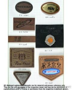 Leather Label , Patches