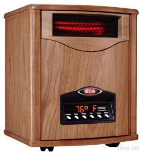 Infrared Heater In Wood Case