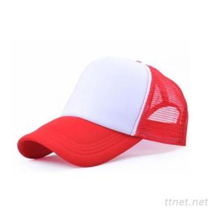 Logo Customized Plain Mesh Trucker Cap Full Close Blank Cap Women Leisure Sun Hat Men's Fitted Baseball Caps