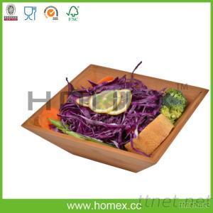 Natural Reuse Kitchenware Tools/Bamboo Salad Bowl