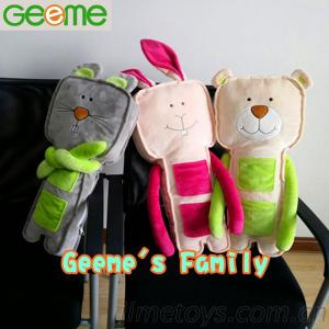 Geeme'S Family Kids Seat Belt Pillows