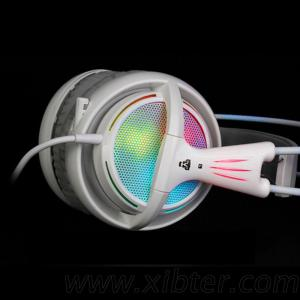 7.1 Sound Headset Rainbow Neon Light Gaming Headphones For PC Gamer Allstar Game Video Headset Headphone With Microphone