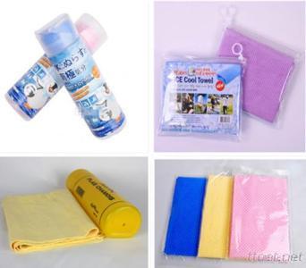 PVA Cooling ToweL, Hair Dry Towel, Sports Towel